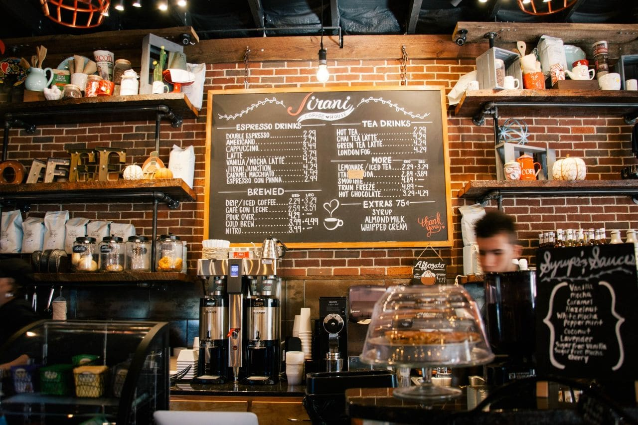 average cost of cafe fit out 1