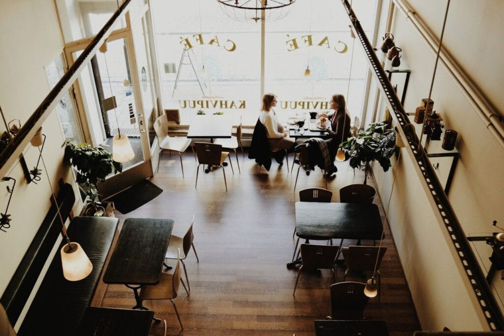 average cost of cafe fit out